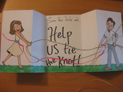 Knot  on Shown You How To Create The Knot Using The Twine And The Pink Line